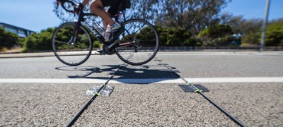 Automatic Cyclists Counter