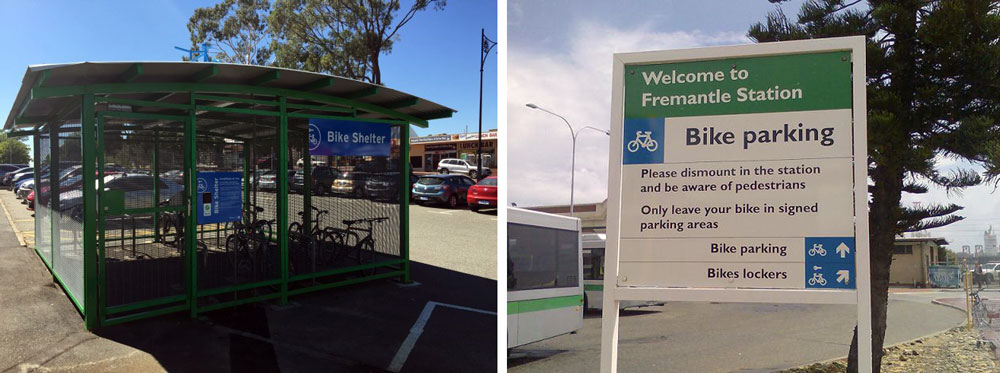 cycling infrastructure - perth