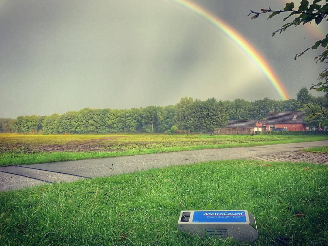 MetroCount Bike Monitoring Network in Noord Brabant, the Netherlands