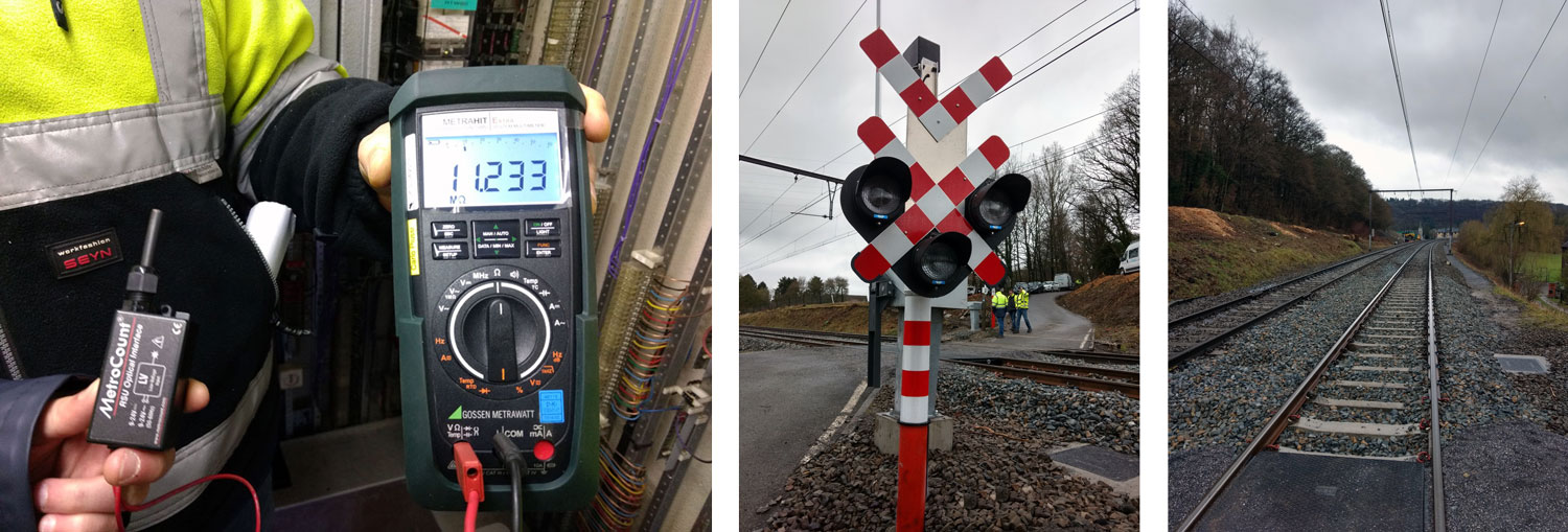 RoadPod PhaseT - Analysing traffic at railway crossings