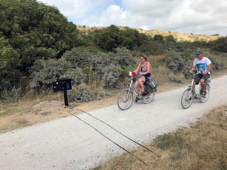 RidePod BT fietsteller