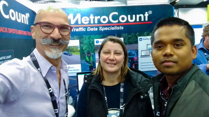 Importance of traffic data at National Roads and Transport Expo, Melbourne