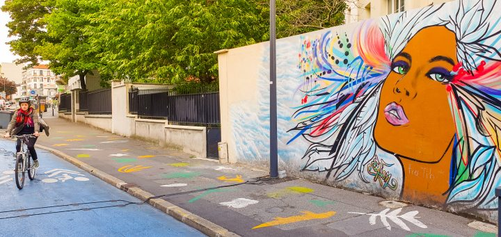 Het onderscheiden van e-scooters, fietsen en bromfietsen in Parijs