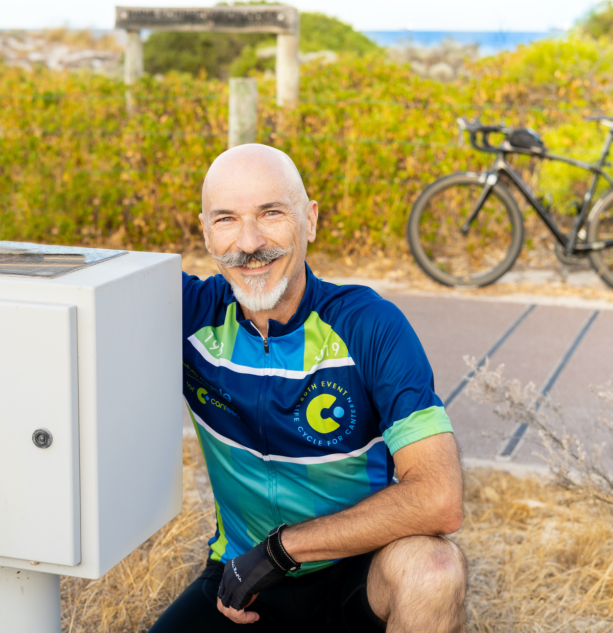 Maurice Berger, cycling enthusiast and traffic data expert at MetroCount
