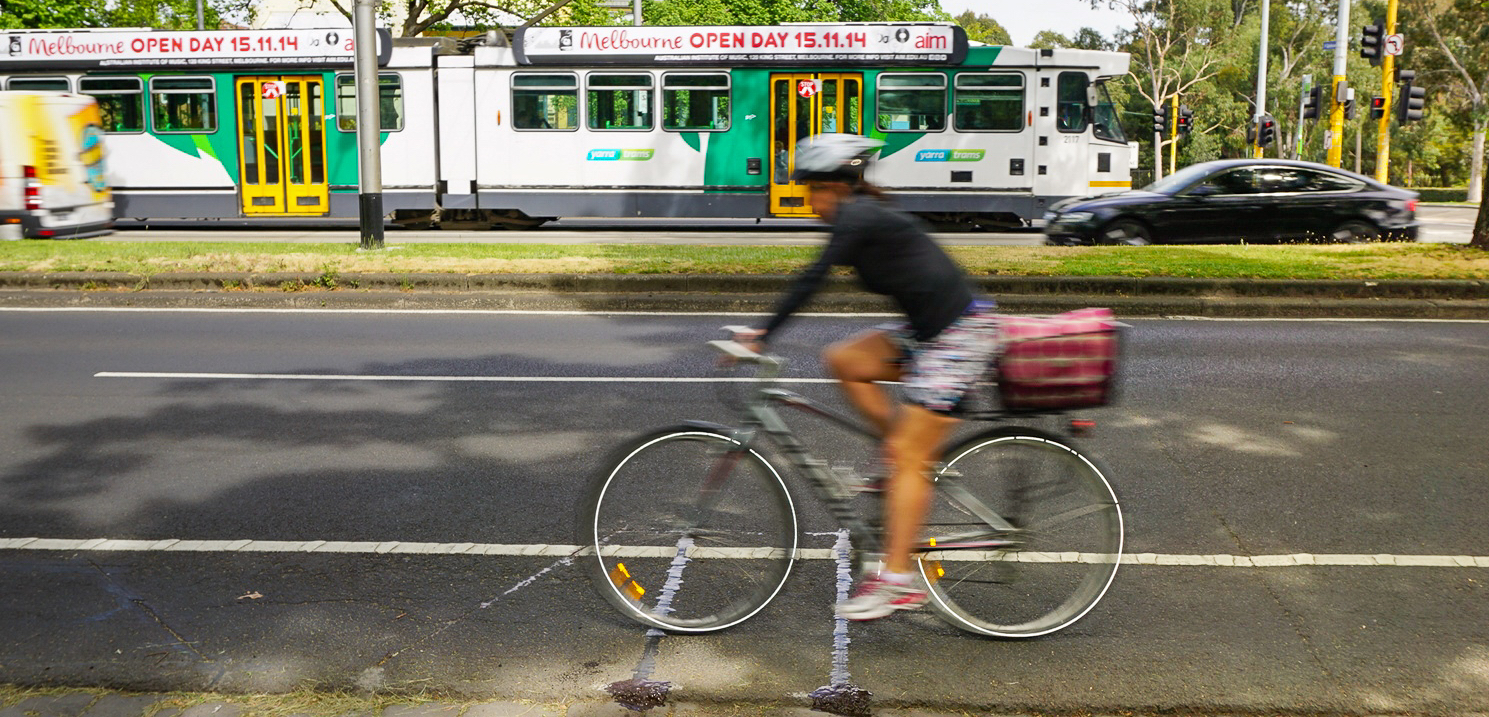 Cycling growth in Melbourne