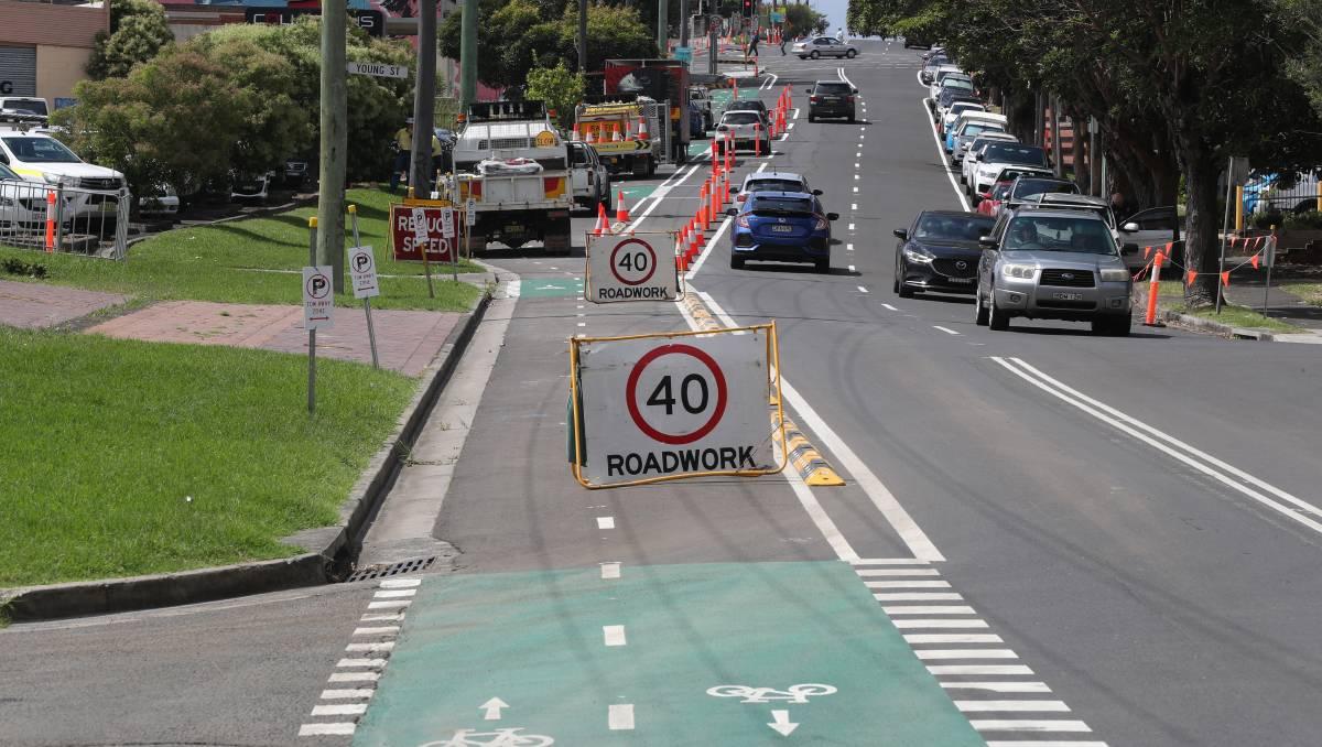 Wollongong cycleway data