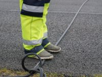Road tube tension is vital for accurate traffic data collection.   MetroCount